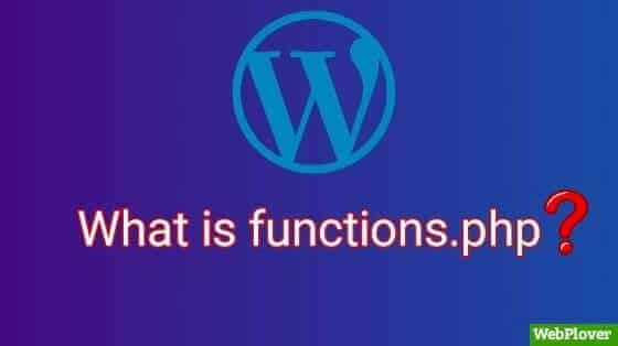 what is functions php in wordpress