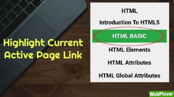 How to Highlight Current Active Page Link in WordPress [with Pictures]