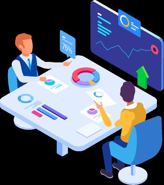 Webplover company table illustration