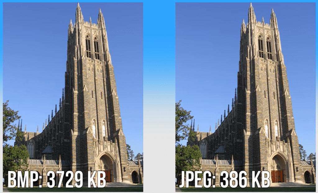 bmp vs jpeg