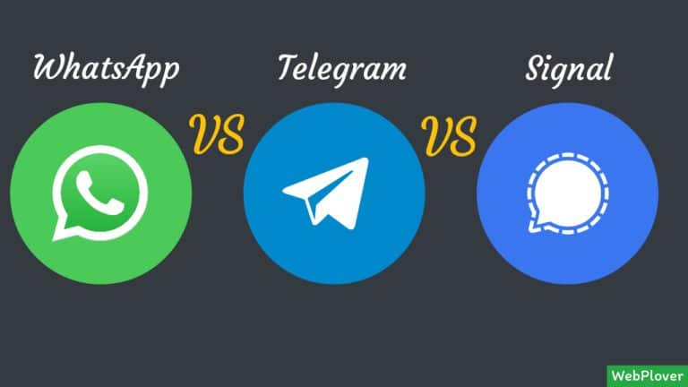 WhatsApp vs Telegram vs Signal – What should you use | Complete Guide