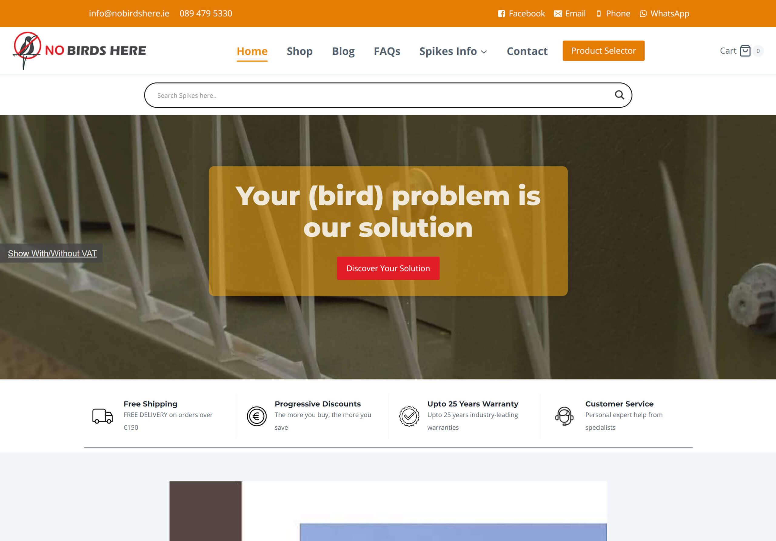 nobirdshere thumbnail scaled - WebPlover